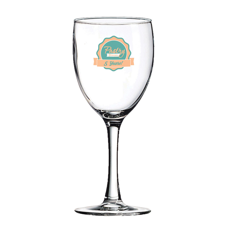Wine Glass 8 ½ oz. Clear