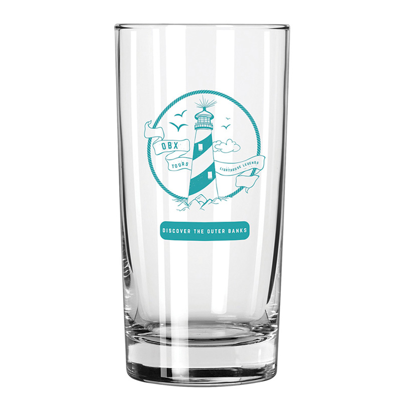 Heavy Bottom Tumbler 12 oz. Clear