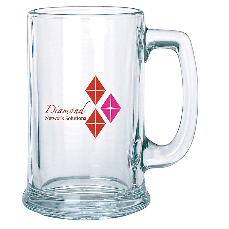 Clear Glass Stein 15 oz.