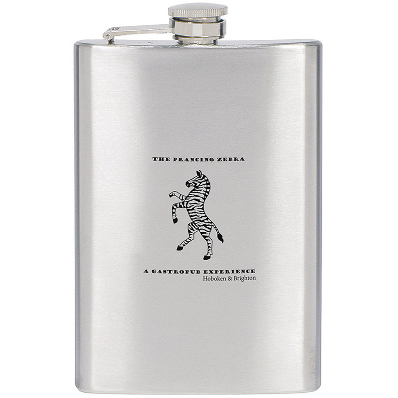 Flask 8 oz. Stainless