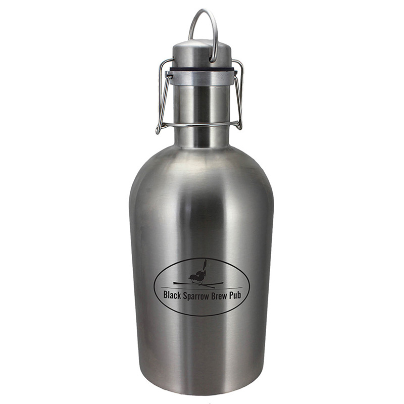 Stainless Steel Growler 64 oz.