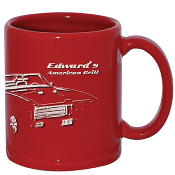 USA Mug 11 oz. Red