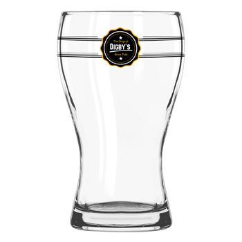 Mini Pub Glass 5 oz. Clear