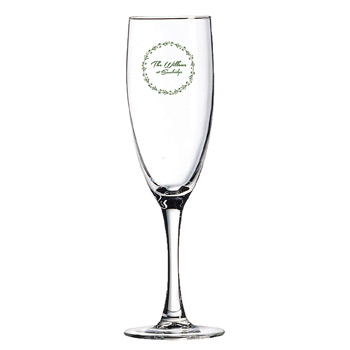 Fluted Champagne Glass 5 ¾ oz. Clear