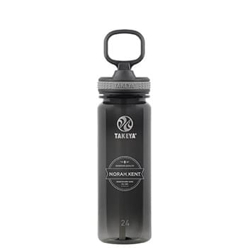 Tritan Water Bottle with Straw 24 oz