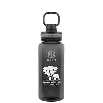 Tritan Water Bottle with Spout Lid 32 oz