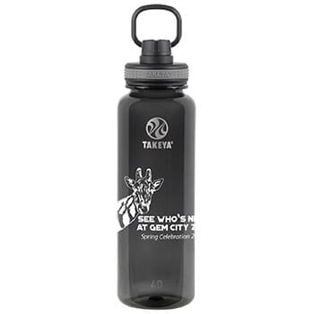 Tritan Water Bottle with Spout Lid 40 oz