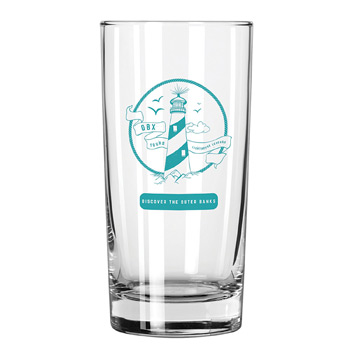 Clear Glass Heavy Bottom Tumbler