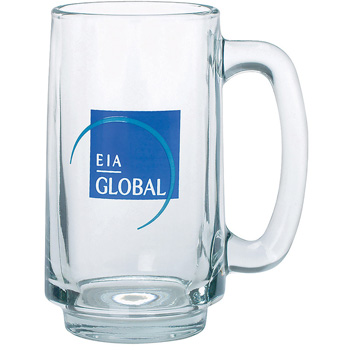Clear Glass Stein