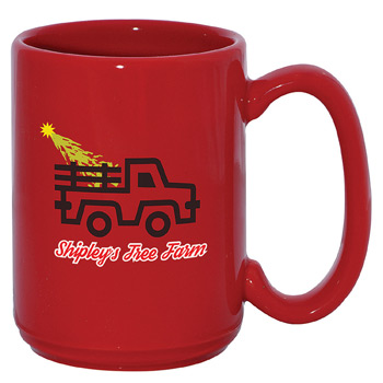 USA El Grande Mug 15 oz. Red