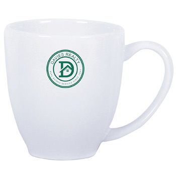 USA Bistro Mug 16 oz. White