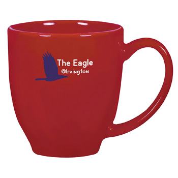USA Bistro Mug 16 oz. Red