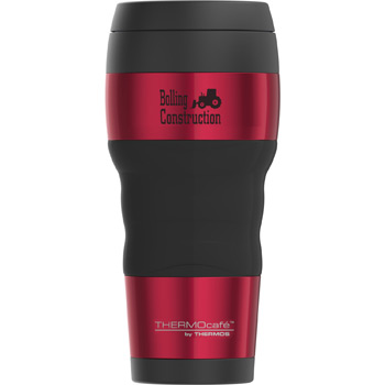ThermoCafe™ Travel Tumbler with Grip 16 oz.
