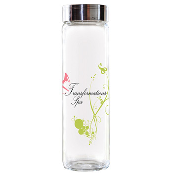 Clear Glass Bottle 18 oz.