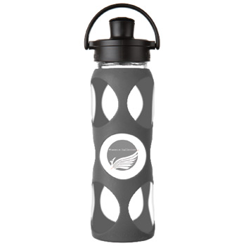 Glass Water Bottle 22 oz.
