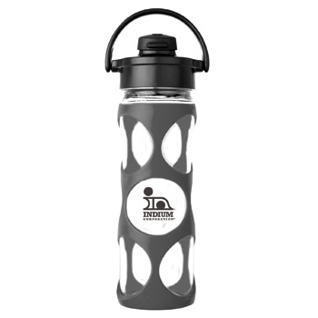Glass Water Bottle 16 oz.