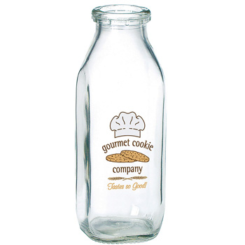 Glass Milk Bottle Half Liter