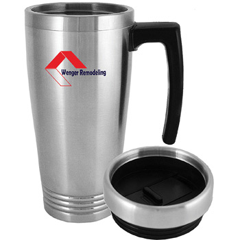 Premier Travel Mug 16 oz. Stainless